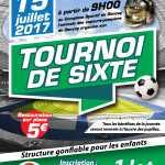 Tournoi de sixte de football à Gençay