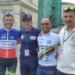 Nouvelle moisson de titres en cyclisme pour les sapeurs-pompiers de la Vienne